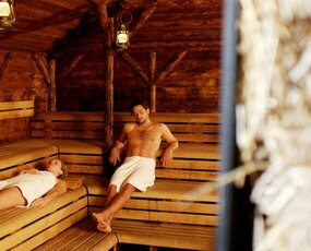 Hooiberg sauna met de Finse Löyly