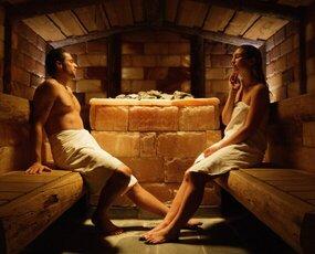 Himalaya Zoutsteen sauna