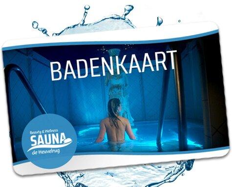 Badenkaart actie september & oktober!